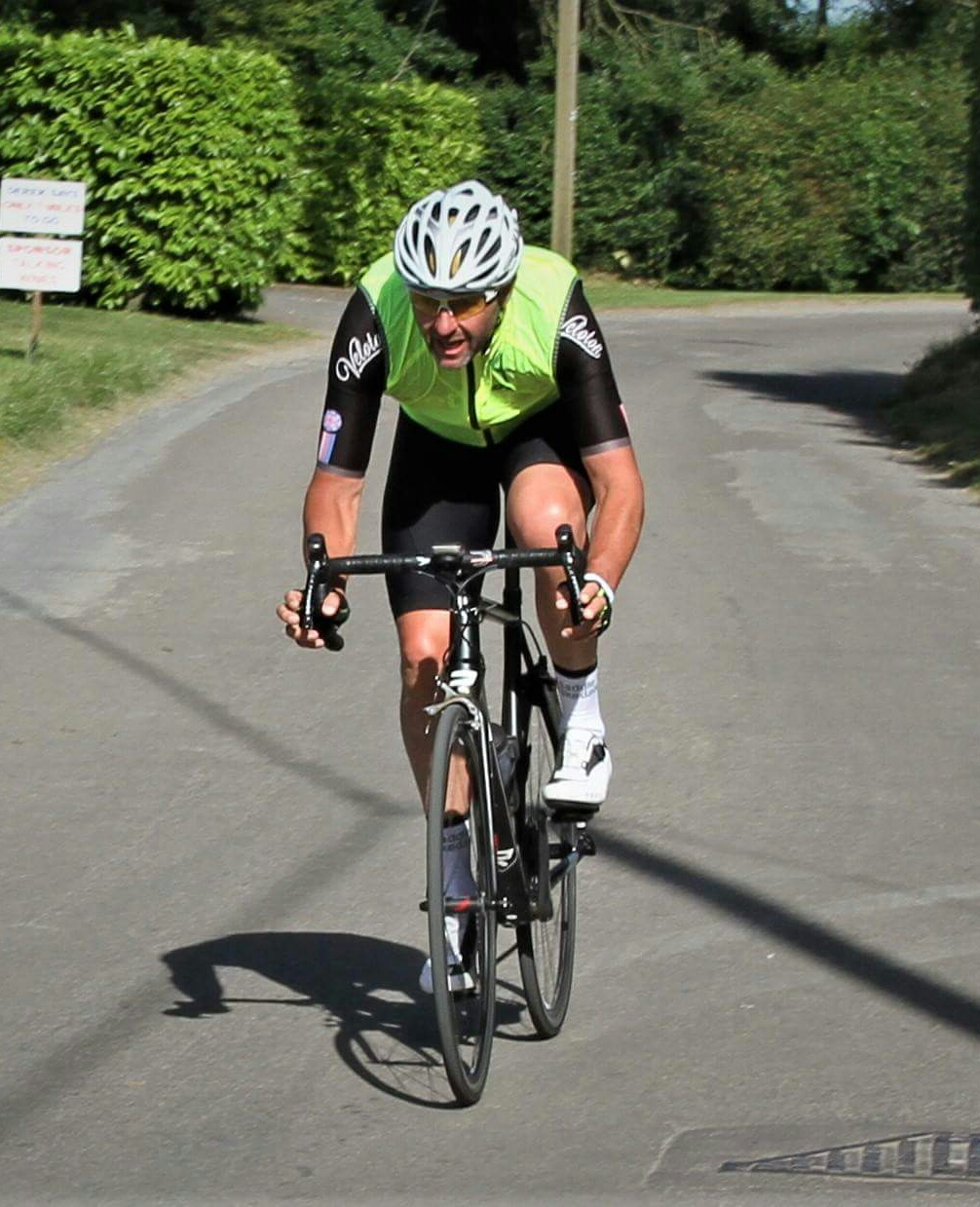 Nick Lockett cycling