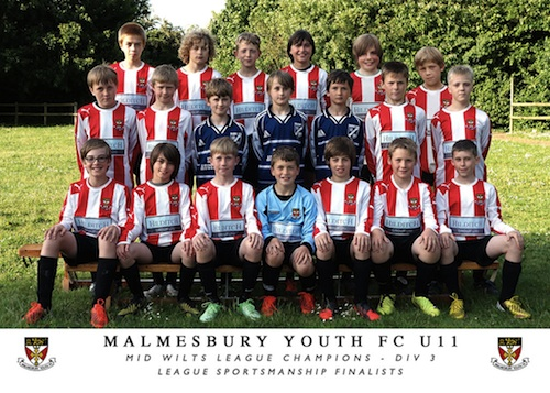 Malmesbury U11's Youth Football Clubs